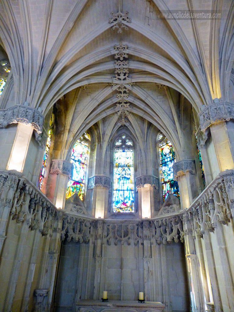 Interior de la Capilla de San Huberto en el Castillo Real de Amboise