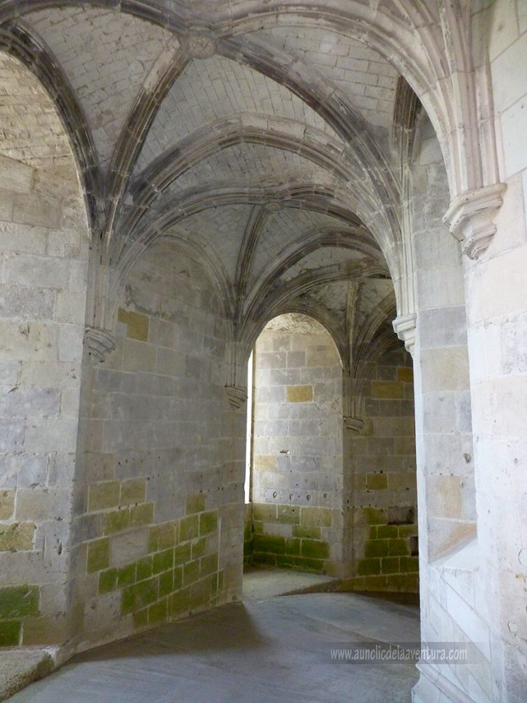 Rampa en espiral para caballos de la Torre Heurtault del Castillo Real de Amboise