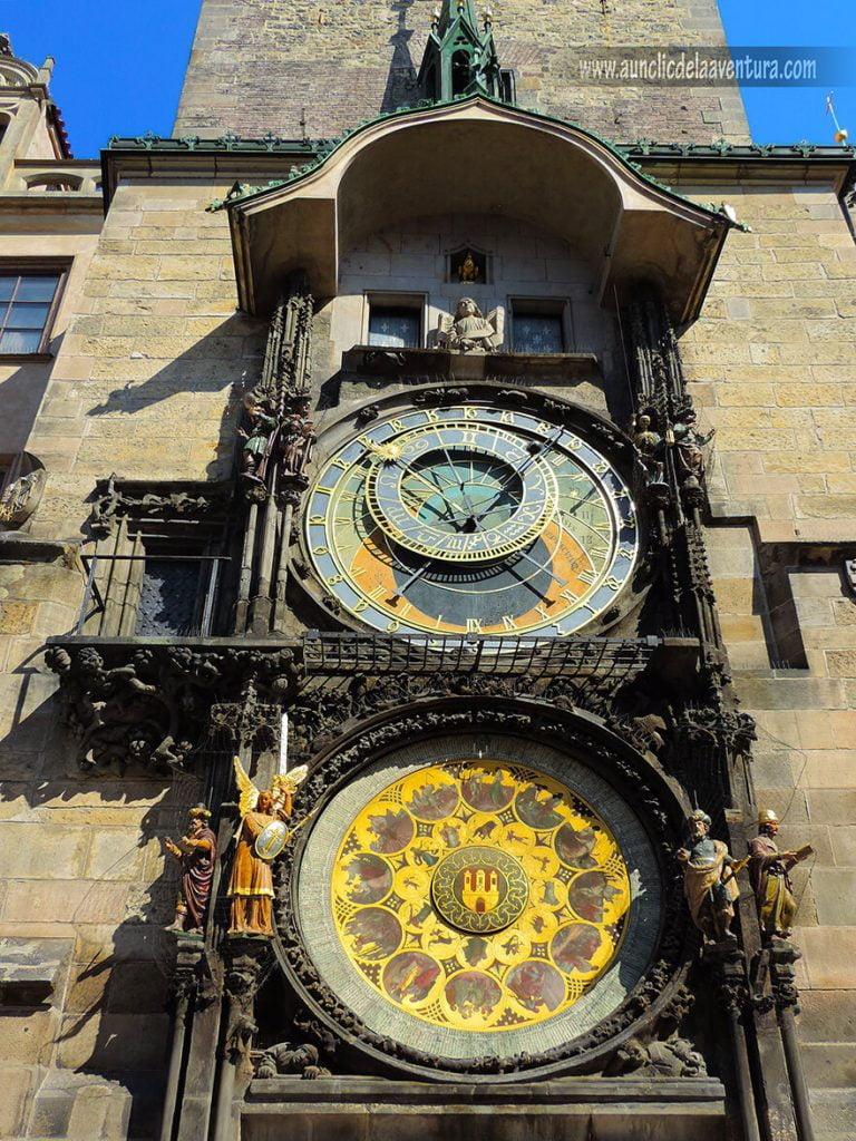 Reloj astronómico de Praga - Qué ver en la Ciudad Vieja de Praga