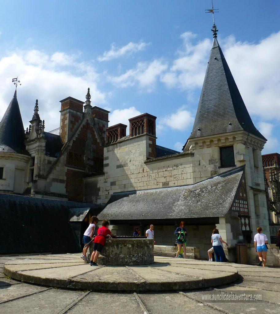Tejado de la Torre de los Mínimos del Castillo Real de Amboise