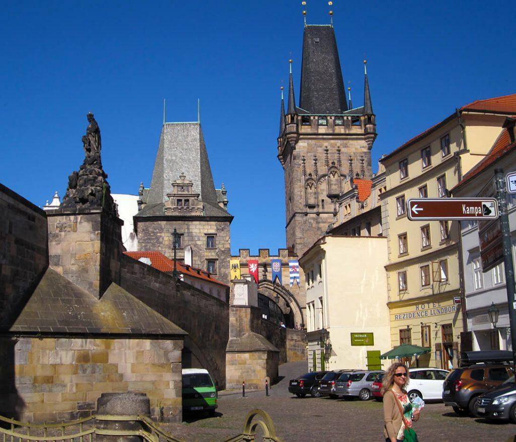 Hacia la isla de Kampa - qué ver en el barrio de Malá Strana de Praga