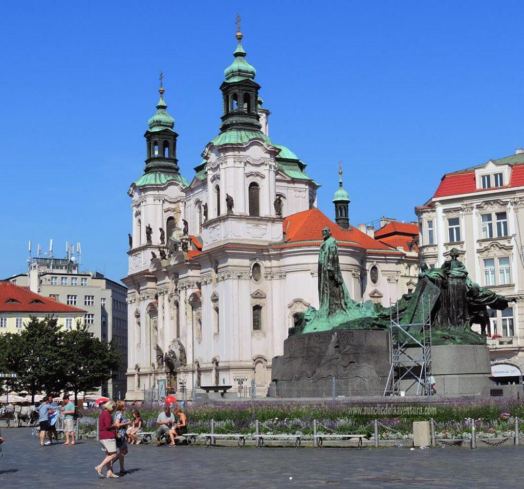 Iglesia de San Nicolás - Qué ver en la Ciudad Vieja de Praga