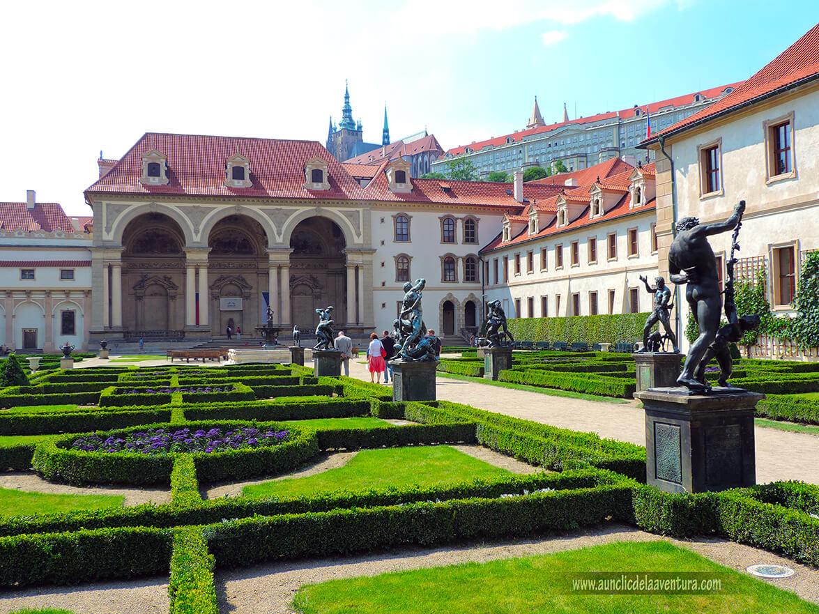 Palacio y jardín Wallenstein