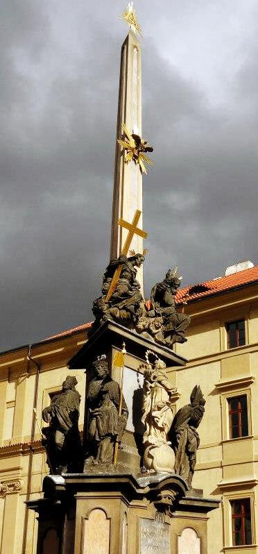 Columna de la Peste - qué ver en el barrio de Malá Strana de Praga