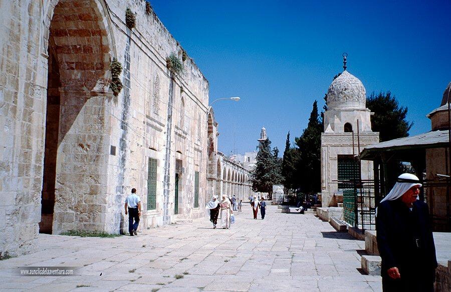 Jerusalén, Explanada del Templo - mis ciudades favoritas