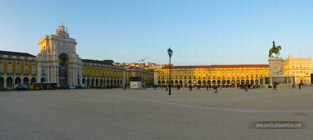 Lisboa, Plaza del Comercio - mis ciudades favoritas