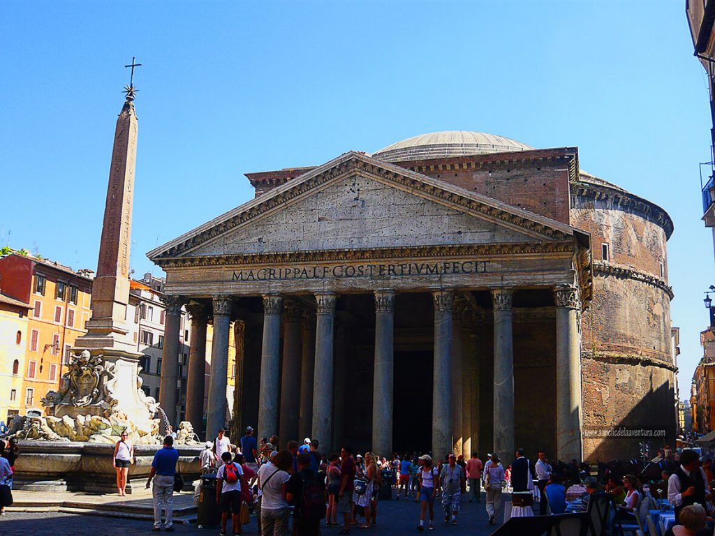 Roma, Panteón - mis ciudades favoritas