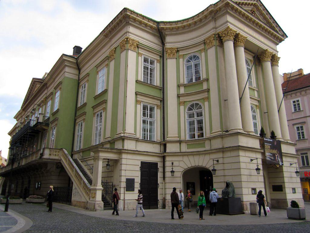 Teatro de los Estados - Qué ver en la Ciudad Vieja de Praga
