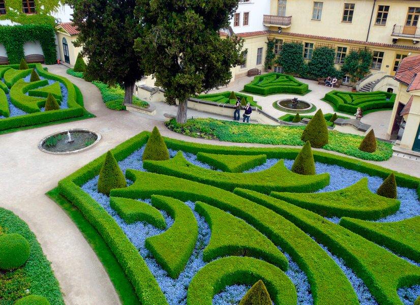 Jardines Vrtba - qué ver en el barrio de Malá Strana de Praga