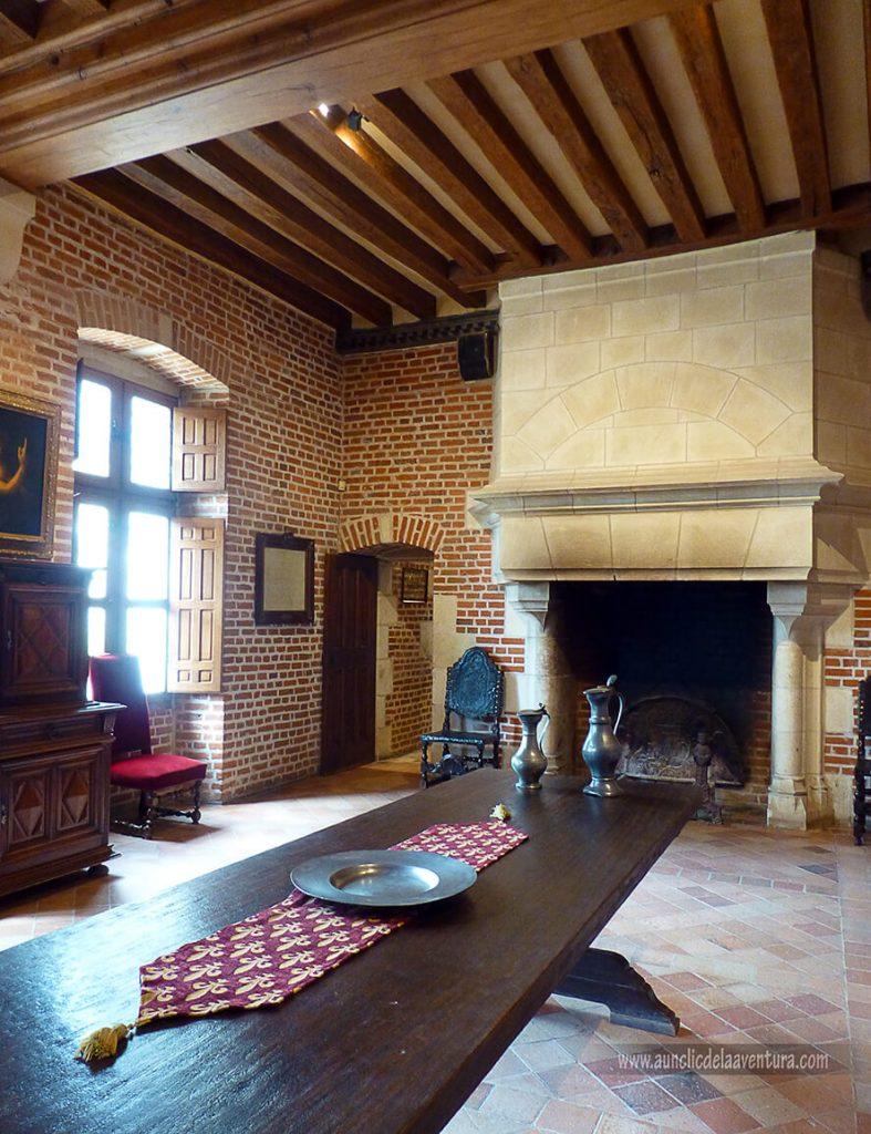 La Gran Sala Renacentista - Castillo de Clos Lucé
