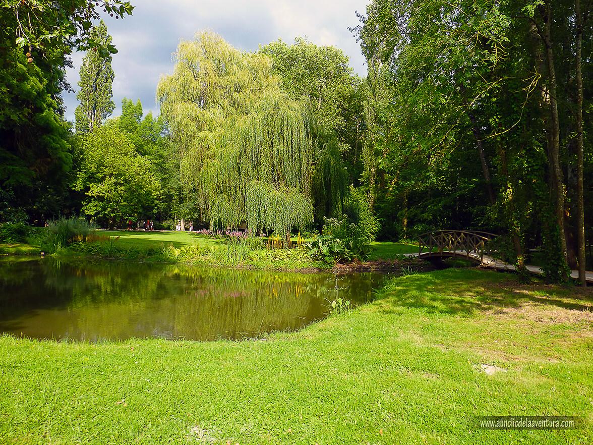 El jardín de Leonardo - Castillo de Clos Lucé