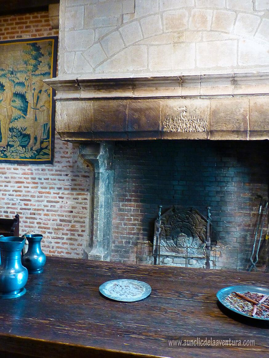 La cocina de Leonardo da Vinci - Castillo de Clos Lucé