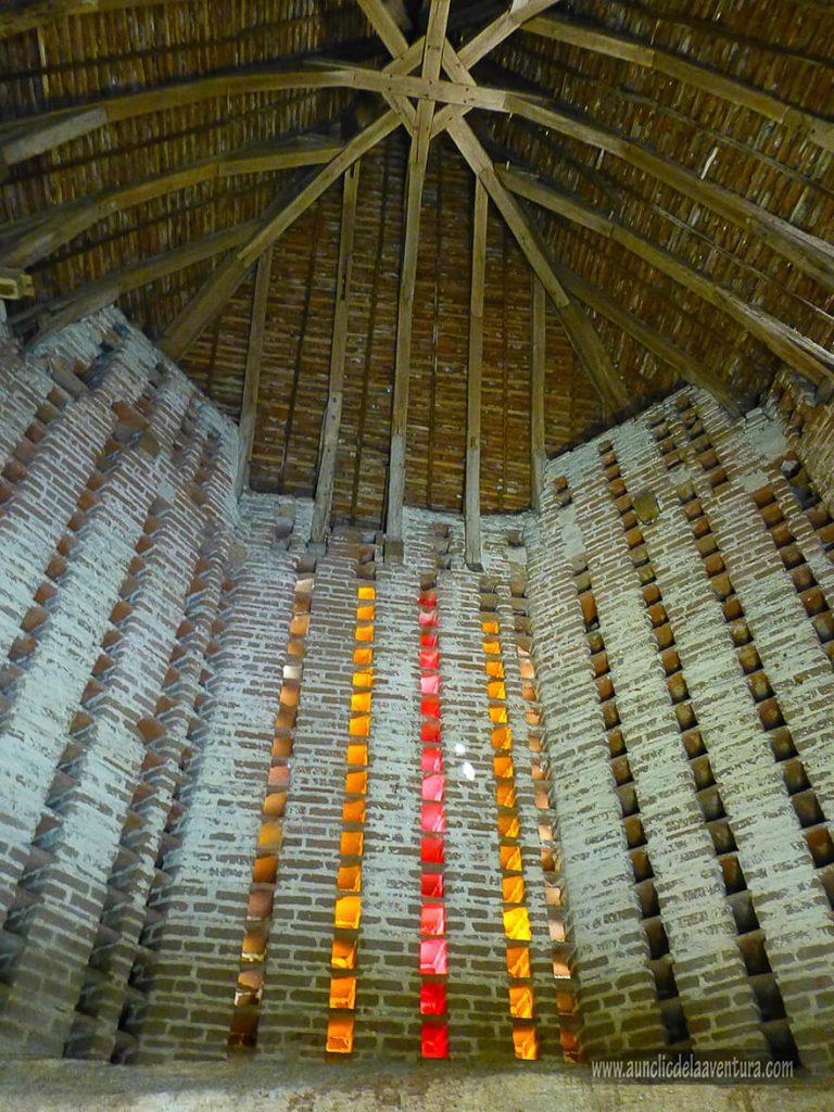 Interior del palomar del siglo XV - Castillo de Clos Lucé
