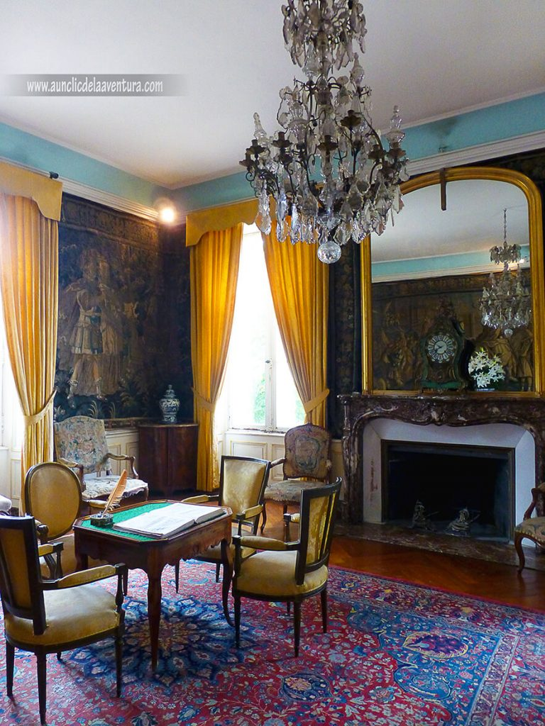 Salones estilo siglo XVIII - Castillo de Clos Lucé