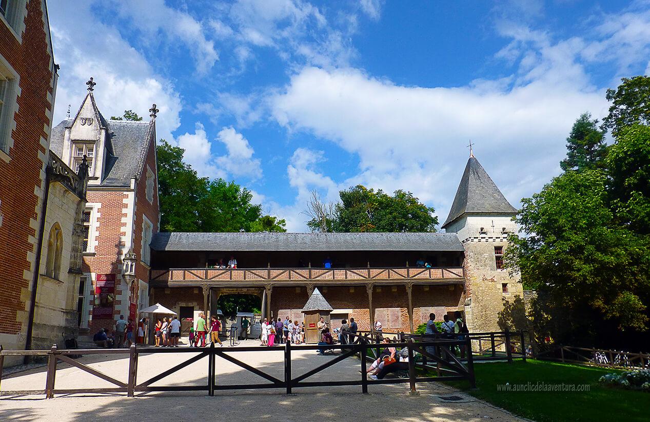 Galería de la Torre de Clos Lucé - Castillo de Clos Lucé