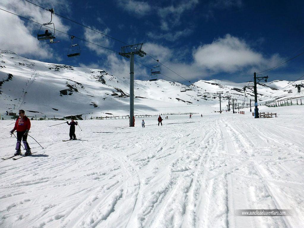 Pista Calgosa en Alto Campoo - esquí en Alto Campoo