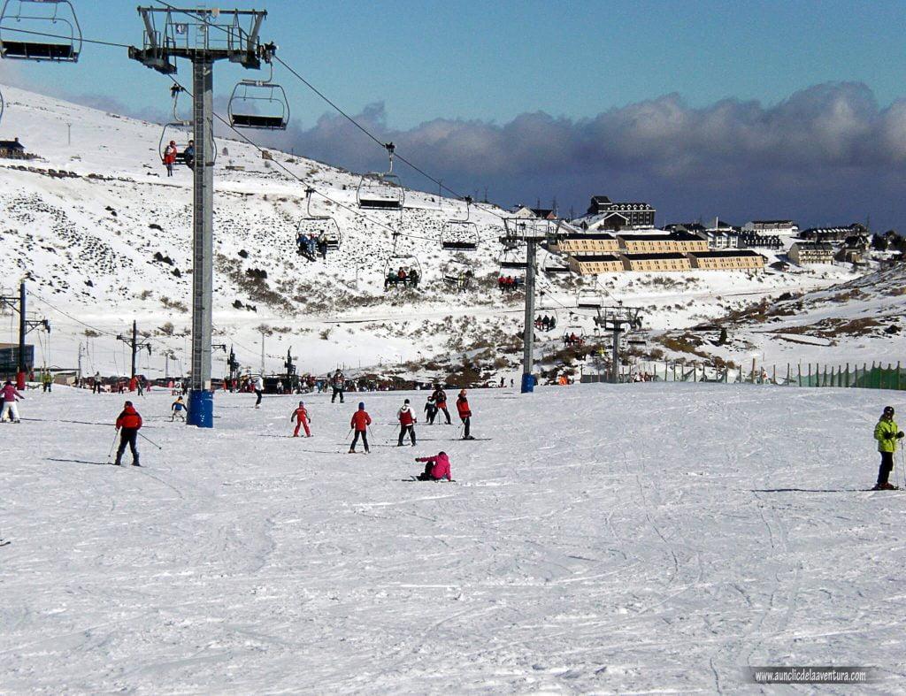 Remontes en Alto Campoo - esquí en Alto Campoo