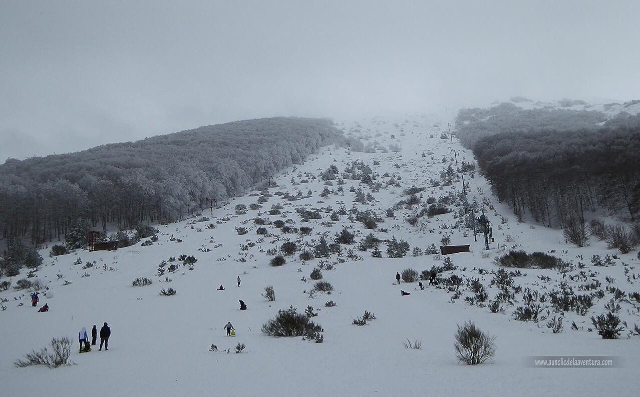 Pista de la antigua estación de esquí Valle del Sol