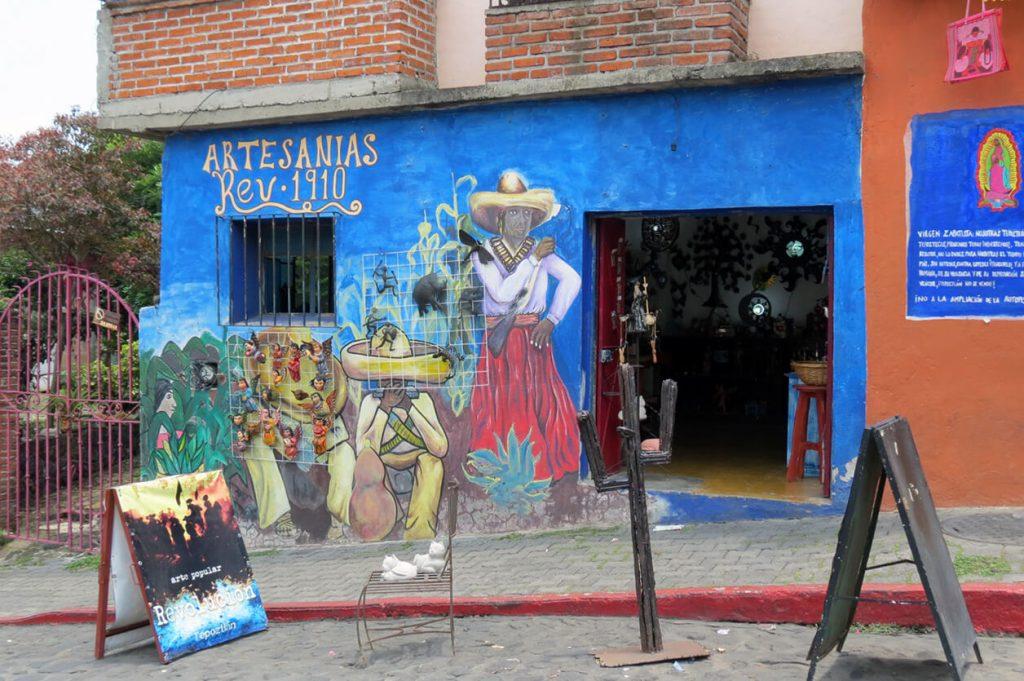 Artesanías de Tepoztlán - pueblos mágicos de México