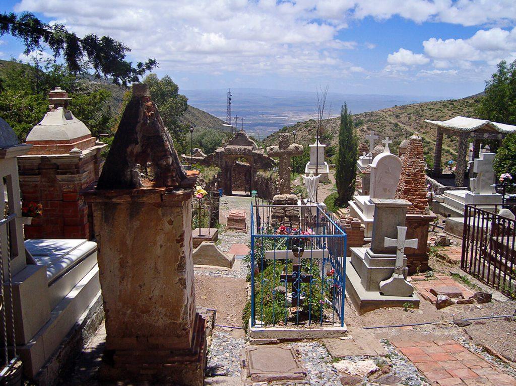 Cementerio de Real de Catorce- pueblos mágicos de México