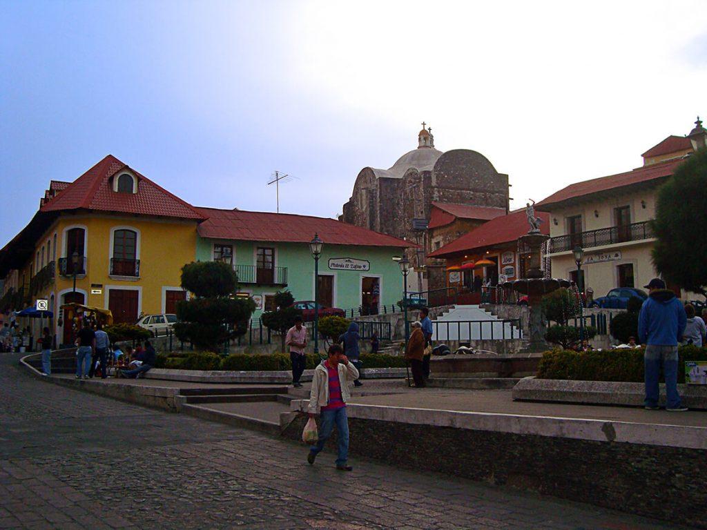 Centro histórico de Real del Monte - pueblos mágicos de México