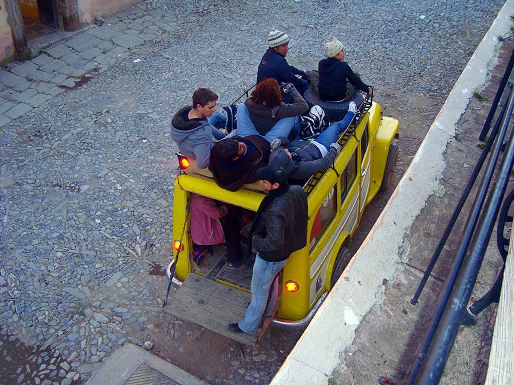 Jeep al desierto Real de Catorce- pueblos mágicos de México