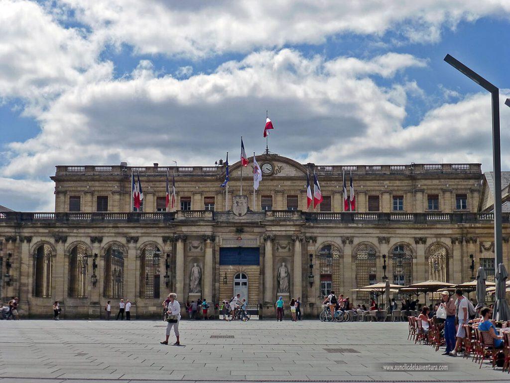 Palacio Rohan actual Hôtel de Ville - que ver en Burdeos