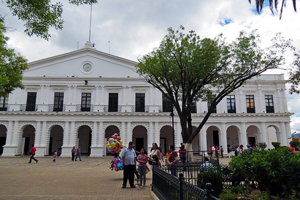 Palacio de Gobierno de San Cristobal de las Casas - pueblos mágicos de México