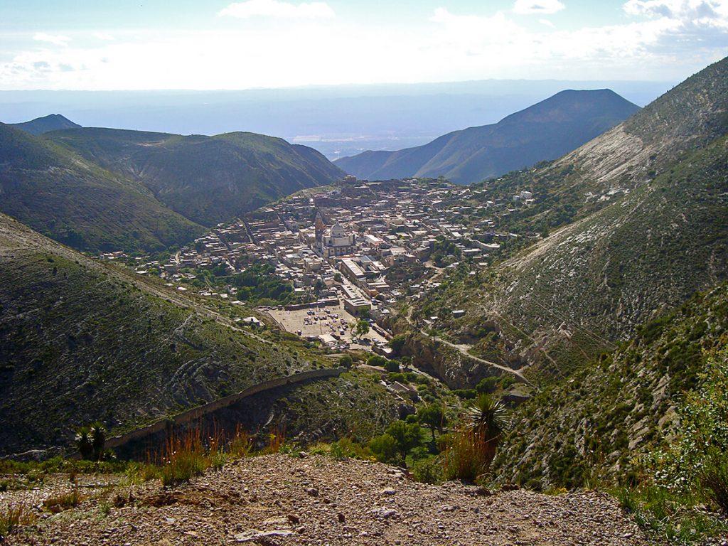 Pueblo fantasma panorámica Real de Catorce- pueblos mágicos de México