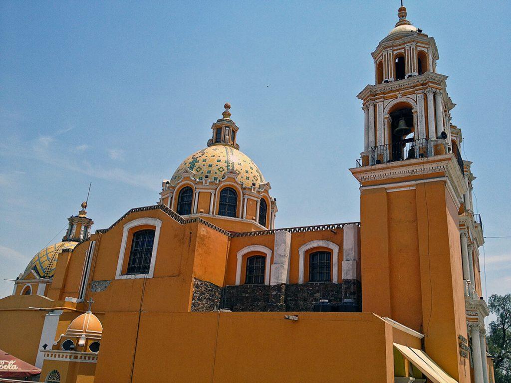 Templo de los Remedios de Cholula - pueblos mágicos de México