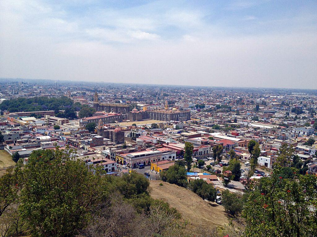 Vista Panorámica de Cholula - pueblos mágicos de México