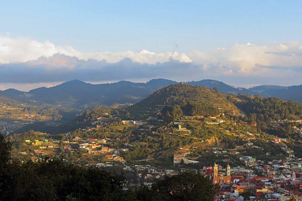 Vista panorámica Real del Monte - pueblos mágicos de México