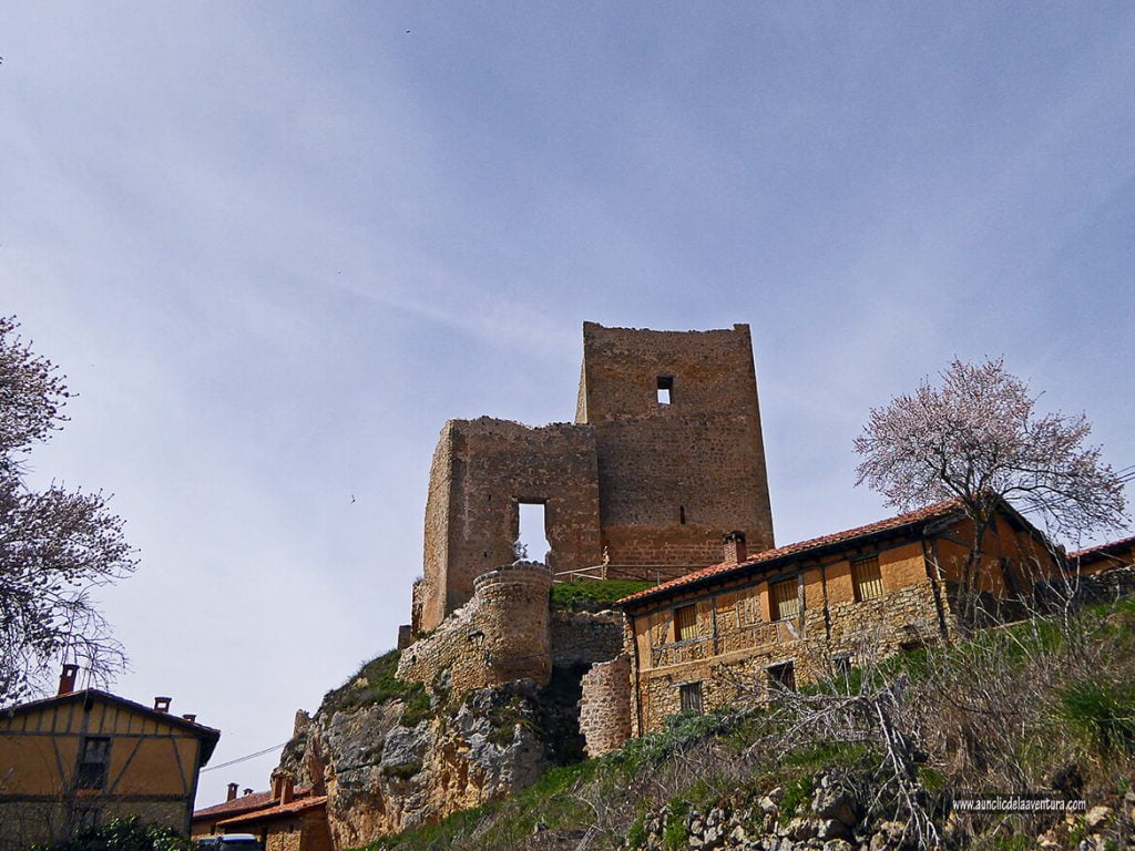 Vista del Castillo de Calatañazor