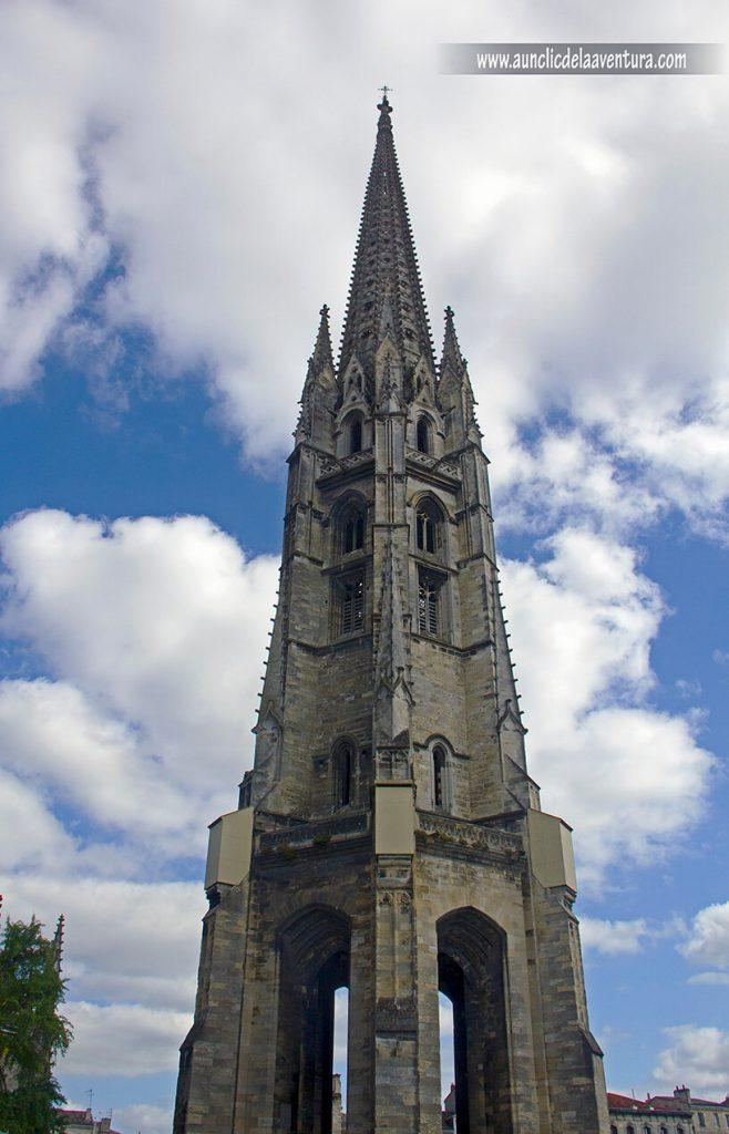 Flecha de Saint-Michel - que ver en Burdeos