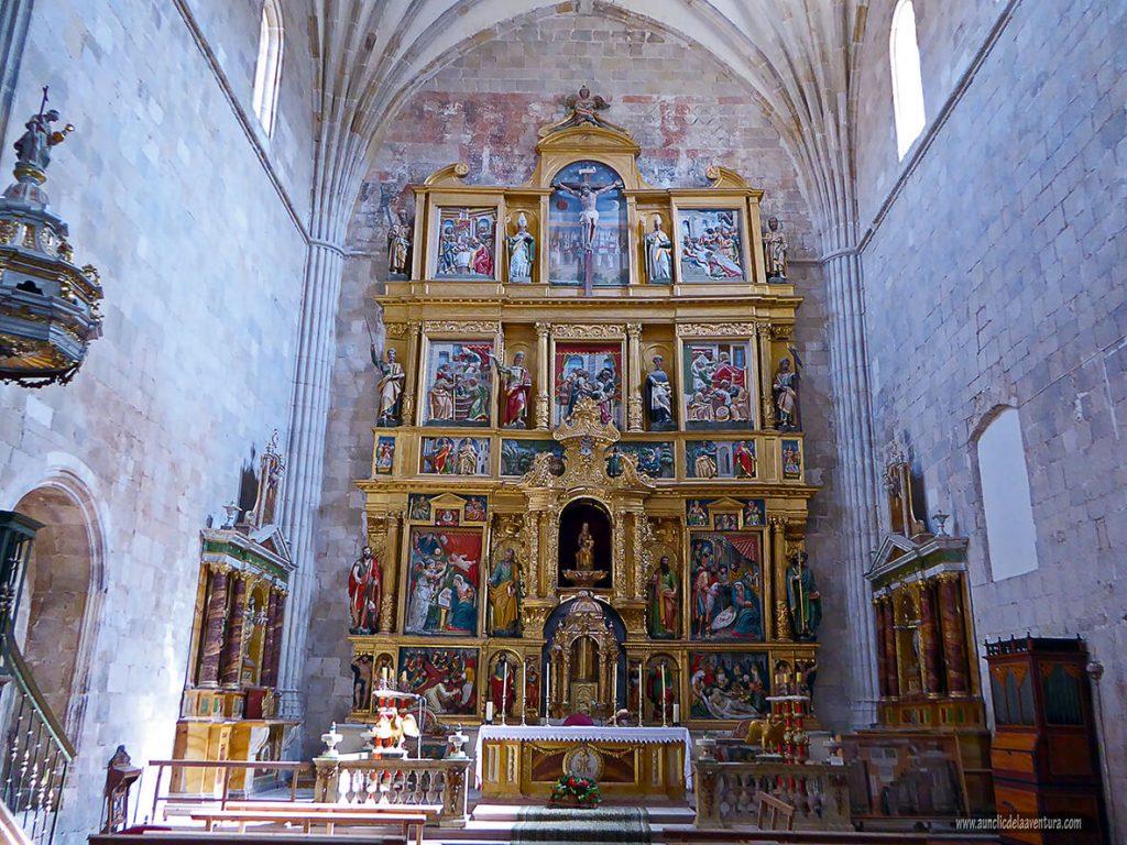 Retablo del altar mayor, que ver en Calatañazor