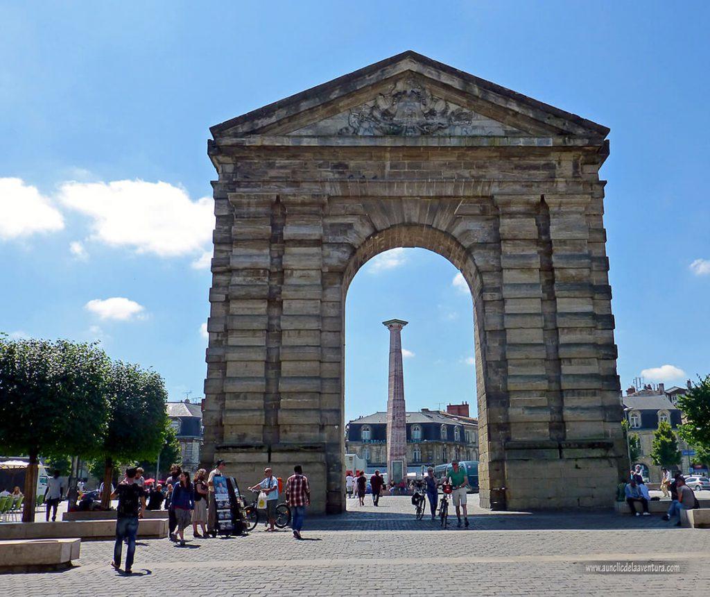 Place de la Victoire- que ver en Burdeos