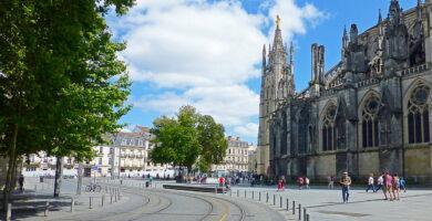 Plaza de la Catedral de Burdeos - que ver en Burdeos