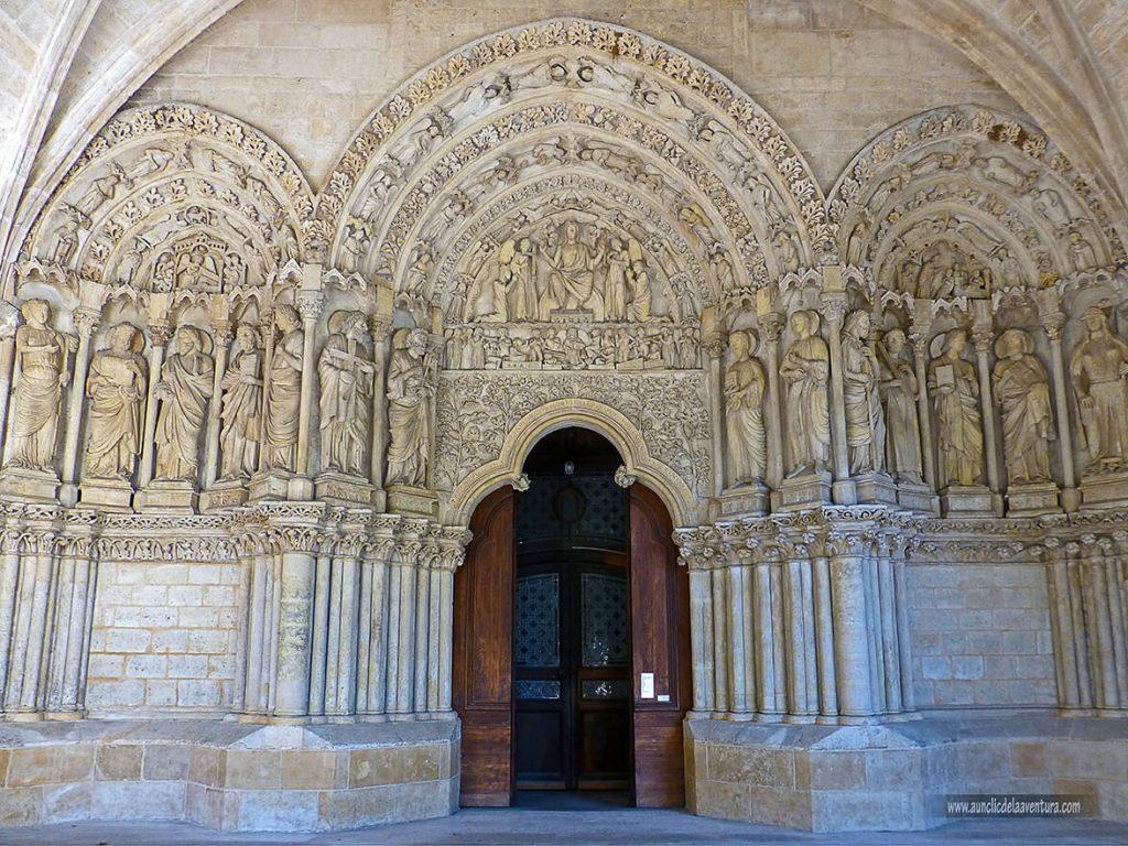 Portada románica de la Basílica de Saint-Seurin - que ver en Burdeos