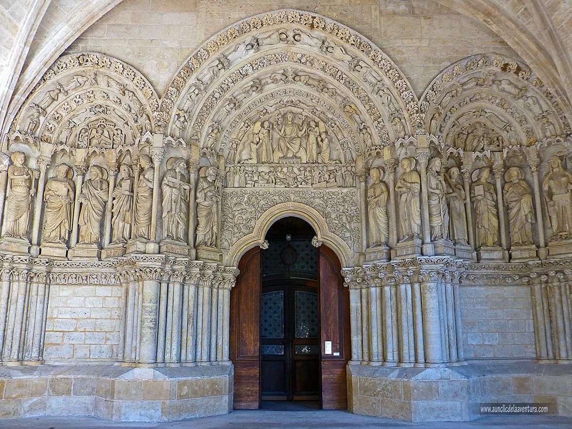 Portada románica de la Basílica de Saint-Seurin