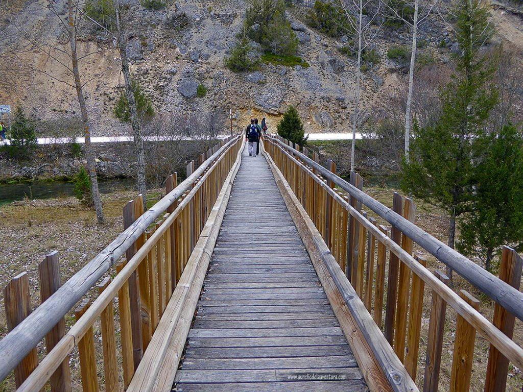 Puente sobre el río Abión, la Fuentona