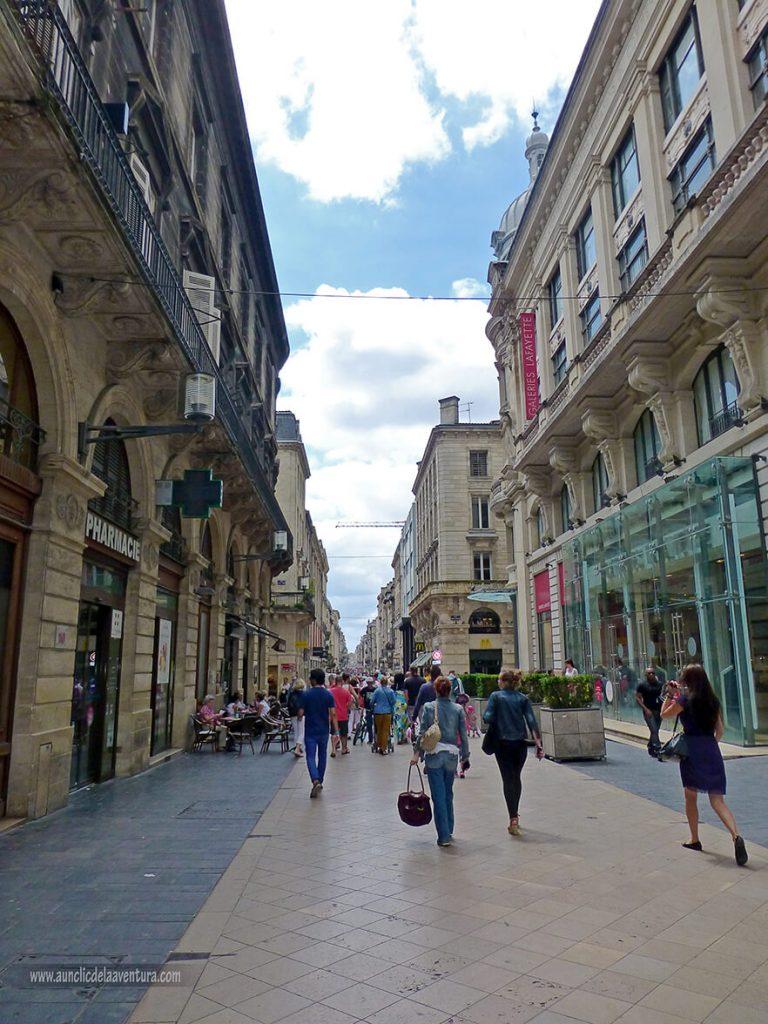 Rue Sainte-Catherine - que ver en Burdeos