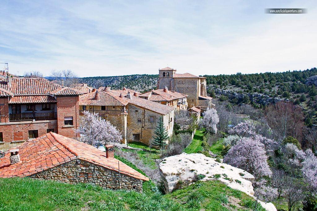 Vista de Calatañazor y su sabinar, que ver en Calatañazor