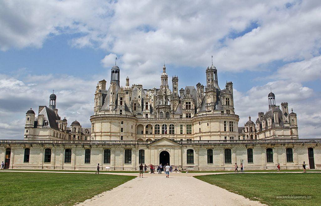 Château de Chambord, ruta de los Castillos del Loira en coche