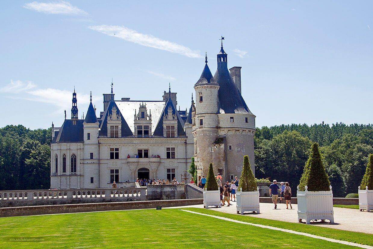 Ruta de los Castillos del Loira en coche