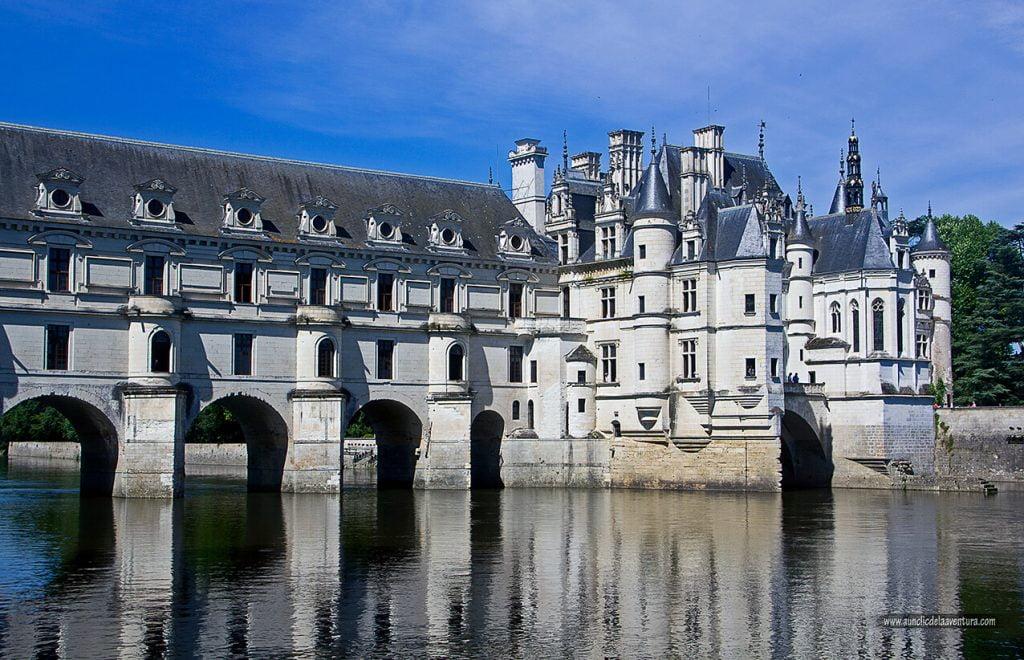 Château de Chenonceau, ruta de los Castillos del Loira en coche