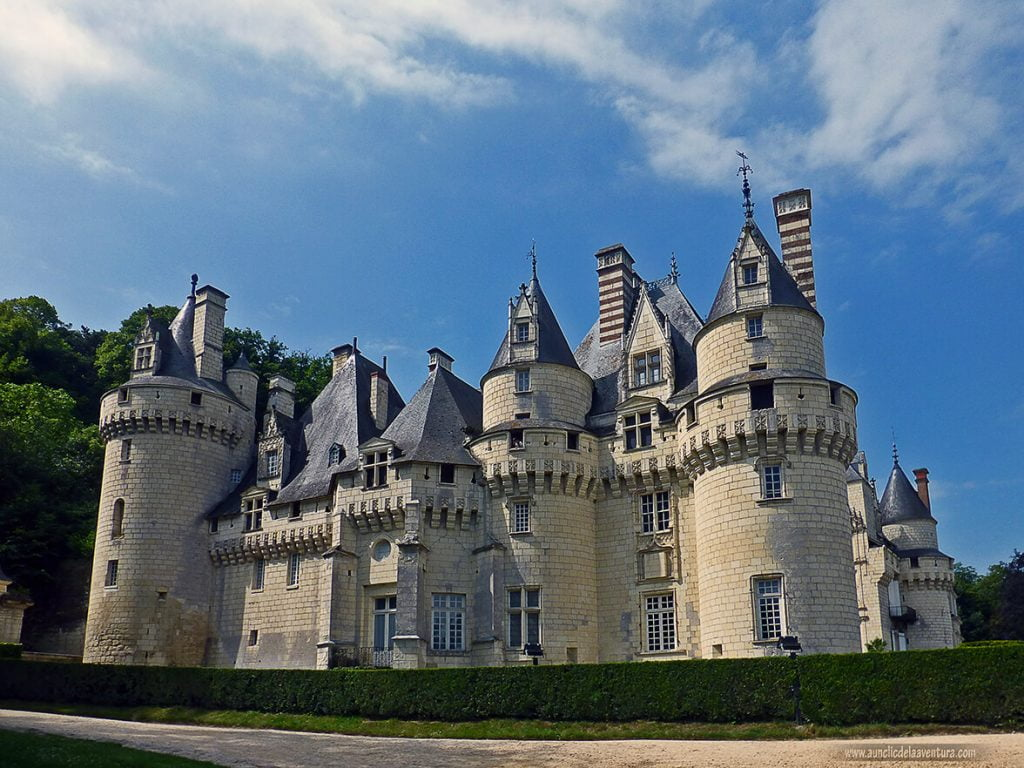 Château d'Ussé, ruta de los Castillos del Loira en coche