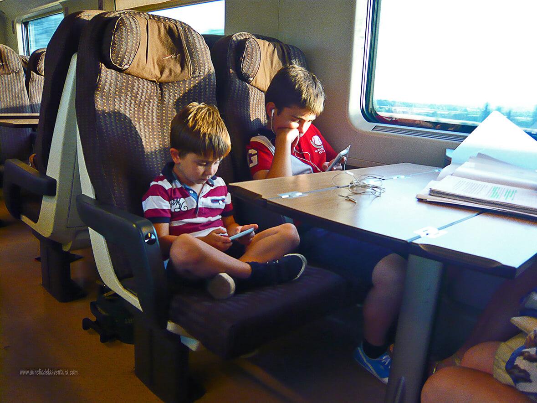 En el tren a Florencia BR F