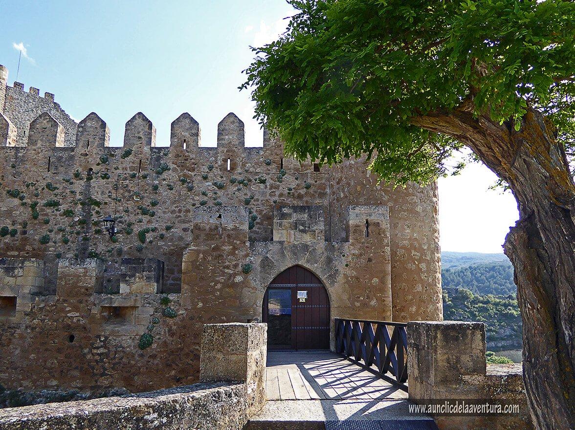 Entrada al Castillo de Frías