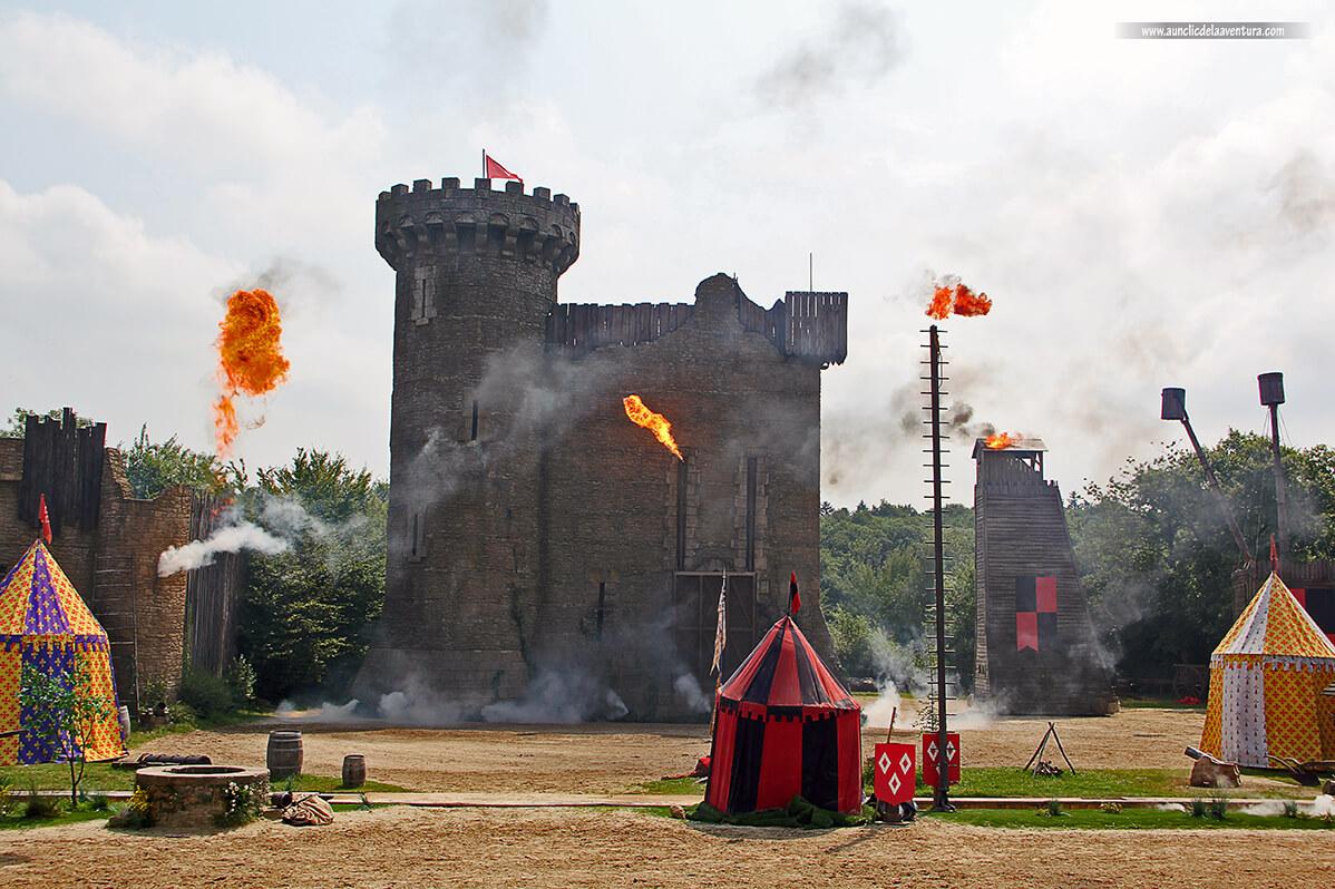 Espectáculo en Puy du Fou