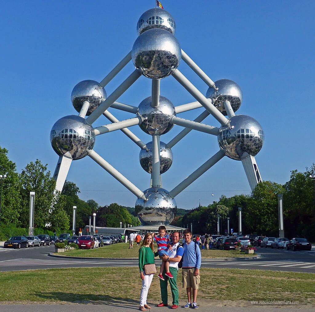 En el Atominum de Bruselas